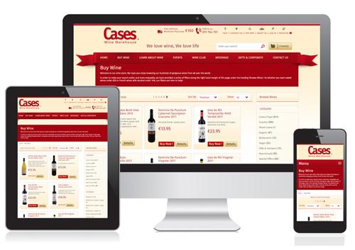 Cases Wine